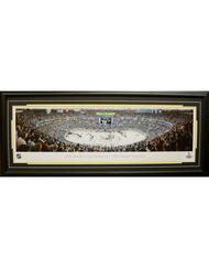 PITTSBURGH PENGUINS 2016 STANLEY CUP CHAMPIONS PANORAMA 16X42 FRAME