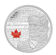 2013 $4 FINE SILVER COIN HEROES OF 1812 - CHARLES-MICHEL DE SALABERRY