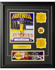 KOBE BRYANT 16X20 FRAME - LOS ANGELES LAKERS