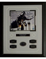 DAVID PROWSE - DARTH VADER AUTOGRAPH 16X20 FRAME