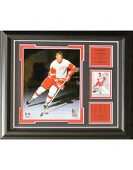 GORDIE HOWE 13X16 FRAME - DETROIT RED WINGS