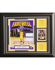 KOBE BRYANT 13X16 FRAME - LOS ANGELES LAKERS