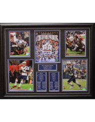 NEW ENGLAND PATRIOTS SUPER BOWL 51 - 22X28 FRAME