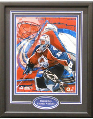 PATRICK ROY 11X14 FRAME - COLORADO AVALANCHE