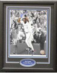 JOE CARTER 11X14 FRAME - TORONTO BLUE JAYS