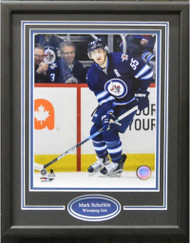 MARK SCHEIFELE 11X14 FRAME - WINNIPEG JETS