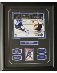 MITCH MARNER AUTOGRAPH 16X20 FRAME - TORONTO MAPLE LEAFS