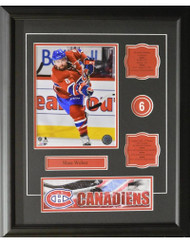 SHEA WEBER 16X20 FRAME - MONTREAL CANADIENS