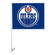 EDMONTON OILERS BLUE CAR FLAG