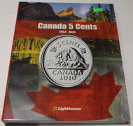 VISTA COIN BOOK CANADA 5 CENTS (NICKELS) - VOL 2 - 1953-DATE