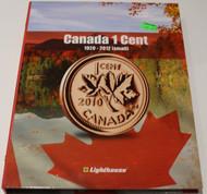 VISTA COIN BOOK CANADA 1 CENTS (PENNIES) - VOL 2 - 1920-2012 (SMALL)