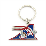 MONTRAL ALOUETTES - DIE CUT LOGO KEYCHAIN - CFL FOOTBALL