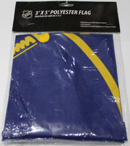 BUFFALO SABRES POLYESTER FLAG  - 3 X 5 FEET - INDOOR/OUTDOOR - BRAND NEW