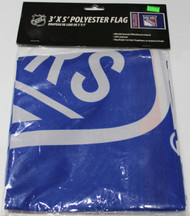 NEW YORK RANGERS POLYESTER FLAG  - 3 X 5 FEET - INDOOR/OUTDOOR - BRAND NEW