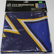 ST. LOUIS BLUES POLYESTER FLAG  - 3 X 5 FEET - INDOOR/OUTDOOR - BRAND NEW