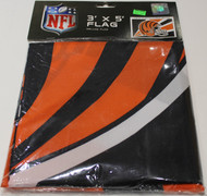CINCINNATI BENGALS - POLYESTER FLAG - 3 X 5 FEET - INDOOR/OUTDOOR - BRAND NEW