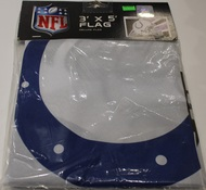INDIANAPOLIS COLTS - POLYESTER FLAG - 3 X 5 FEET - INDOOR/OUTDOOR - BRAND NEW