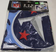 TENNESSEE TITANS - POLYESTER FLAG - 3 X 5 FEET - INDOOR/OUTDOOR - BRAND NEW