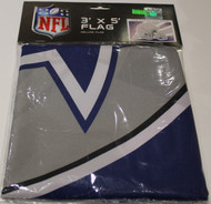 DALLAS COWBOYS - POLYESTER FLAG - 3 X 5 FEET - INDOOR/OUTDOOR - BRAND NEW