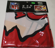 KANSAS CITY CHIEFS - POLYESTER FLAG - 3 X 5 FEET - INDOOR/OUTDOOR - BRAND NEW