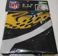 JACKSONVILLE JAGUARS - POLYESTER FLAG - 3 X 5 FEET - INDOOR/OUTDOOR - BRAND NEW