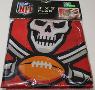 TAMPA BAY BUCCANEERS - POLYESTER FLAG - 3 X 5 FEET - INDOOR/OUTDOOR - BRAND NEW