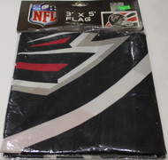 ATLANTA FALCONS - POLYESTER FLAG - 3 X 5 FEET - INDOOR/OUTDOOR - BRAND NEW