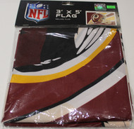 WASHINGTON REDSKINS - POLYESTER FLAG - 3 X 5 FEET - INDOOR/OUTDOOR - BRAND NEW