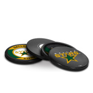 DALLAS STARS NHL HOCKEY PUCK COASTERS - 4-PACK