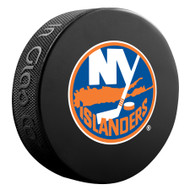 NHL OFFICIAL NEW YORK ISLANDERS SOUVENIR PUCK