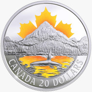 2017 $20 FINE SILVER COIN CANADA'S COASTS SERIES: PACIFIC COAST