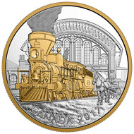2017 $20 FINE SILVER COIN LOCOMOTIVES ACROSS CANADA: THE 4-4-0