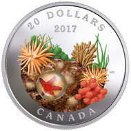 2017 $20 FINE SILVER COIN UNDER THE SEA: SEA STAR