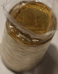 1995 LOONIE ROLL - SEALED IN ORIGINAL PLASTIC WRAP - 1 DOLLAR