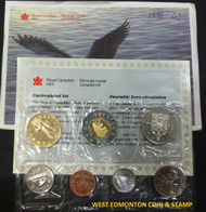 1998 WINNIPEG UNCIRCULATED PROOF LIKE SET