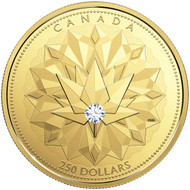 2017 $250 PURE GOLD COIN CELEBRATING CANADIAN BRILLIANCE