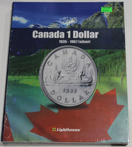 VISTA COIN BOOK CANADA 1 DOLLAR (LOONIES) - VOL 1 - 1935-1967 (SILVER)