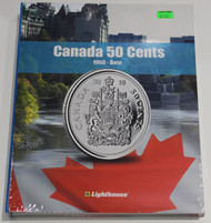 VISTA COIN BOOK CANADA 50 CENTS  - VOL 2 - 1953-DATE