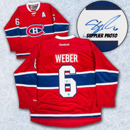 Shea Weber Montreal Canadiens Autographed Reebok Premier Hockey Jersey