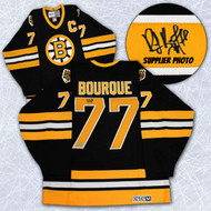 Ray Bourque Boston Bruins Autographed Black Retro CCM Hockey Jersey
