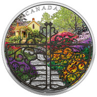 2017 $30 FINE SILVER COIN GATE TO ENCHANTED GARDEN