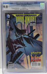 LEGENDS OF THE DARK KNIGHT #1 FEB 2014  CGC 9.8