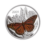 2005 50-CENT BUTTERFLY COLLECTION - MONARCH - QUANTITY SOLD: 35,950