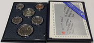 1986 SIX COIN SPECIMEN SET