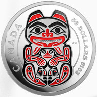 2016 $50 FINE SILVER COIN – MYTHICAL REALMS OF THE HAIDA SERIES: THE BEAR
