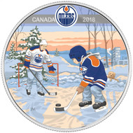 2018 $10 FINE SILVER COIN LEARNING TO PLAY: EDMONTON OILERS®