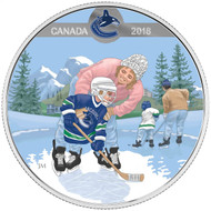 2018 $10 FINE SILVER COIN PASSION TO PLAY: VANCOUVER CANUCKS®