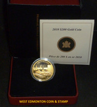 2010 $200 22-KARAT - PETROLEUM AND OIL TRADE GOLD COIN