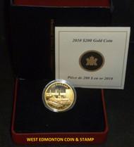 2010 $200 22-KARAT - PETROLEUM AND OIL TRADE GOLD COIN