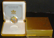 2000 LUNAR HOLOGRAM $150 18K GOLD COIN YEAR OF THE DRAGON - QUANTITY SOLD 8874